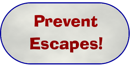 Prevent Escapes