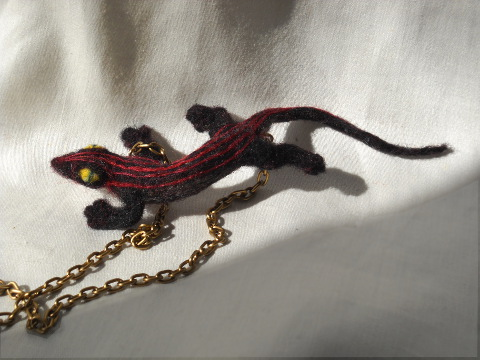 Salamander Necklace 3